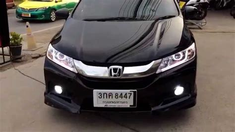 Lu Led Honda City honda city 2014 projector 8 เหล ยม daylight k 6 bb
