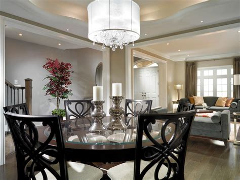 Latest Kitchen Accessories estate model home brampton contemporary dining room