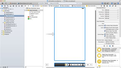 xcode tutorial interface builder how to make iphone apps creating the demo app with xcode