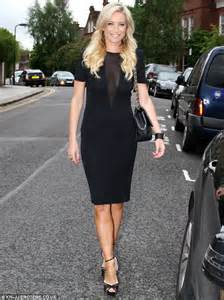 denise van outen adds appeal to the proceedings as she