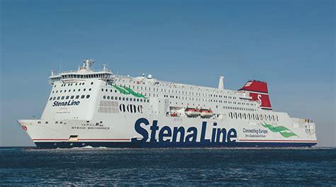 Stelan Linesa stena britannica ferry hook of harwich