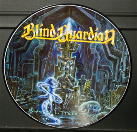 Blind Guardian Vinyl popsike blind guardian nightfall in middle earth picture disc auction details