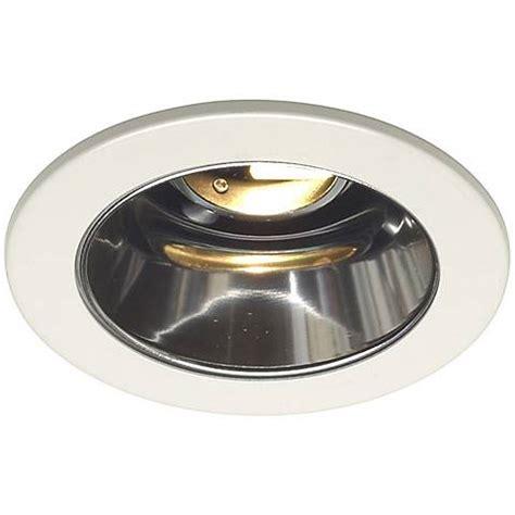 juno 4 quot low voltage clear alzak recessed light trim