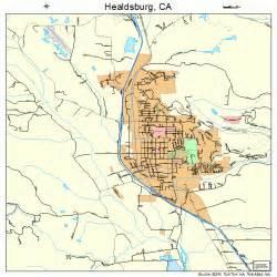 healdsburg california map 0633056