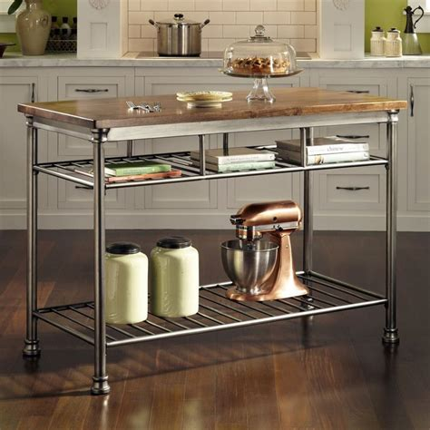 stainless kitchen island best 25 stainless steel island ideas on