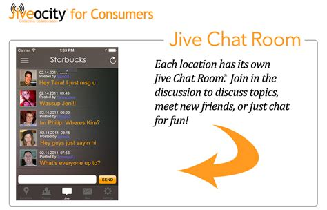 Foot Chat Room by Powered Social Networking Application