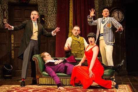 the dinner play the play that goes wrong tickets theatre tickets