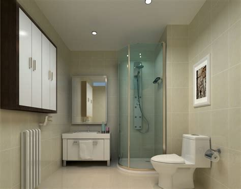 washroom design contracted washroom design rendering