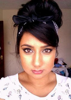 cute pin up hairstyles for black women 1000 ideas about bandana hairstyles on pinterest cute