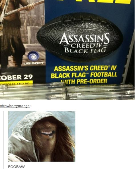 Assassins Creed 4 Memes - assassin s creed iv black flag football with pre order