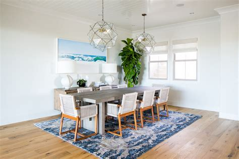 coastal dining rooms a coastal dining room designed by becki owens