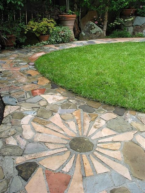 Backyard Pebble Gravel by 43 Awesome Garden Paths Digsdigs