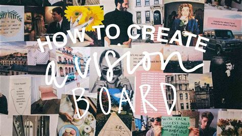 canva vision board how to create a vision board that works in 2018 tumblr