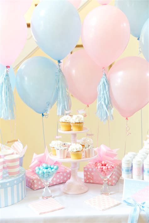 boy or blue pink gender reveal party pizzazzerie