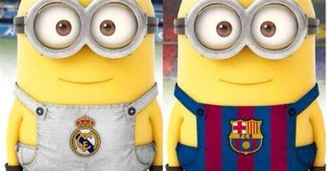 wallpaper minion barcelona minions rt for real madrid fave for barcelona