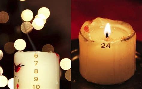 candele danesi tradizioni natalizie danesi la candela numerata