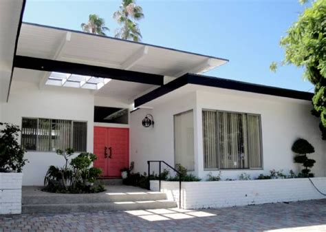 modern house for sale mid century modern homes exterior paint color native