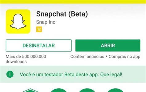 snapchat beta apk como instalar um aplicativo beta no android para testar novas 231 245 es tutoriais apk