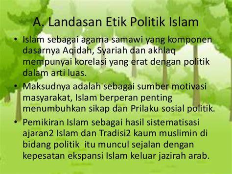 Politik Bermoral Agama Tafsir Politik Hamka 1 pp etika islam dalam aspek politik