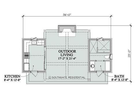 floor plans with pool pool house floor plans southgate residential poolhouse
