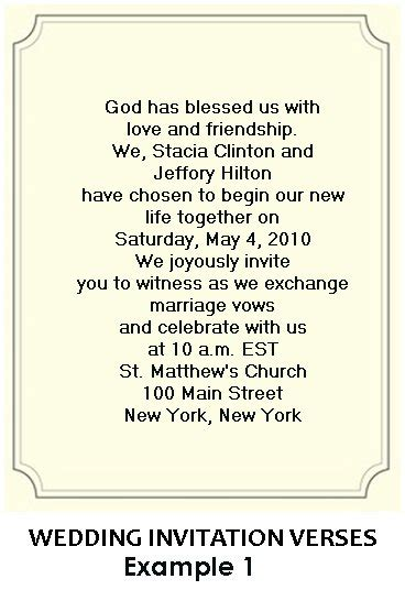 simple wedding invitation wordings for friends christian wedding invitation wording