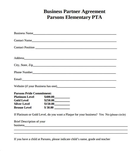 Free Sample Contract Templates