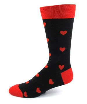 valentines day socks men s hearts everywhere socks 36 s day gifts