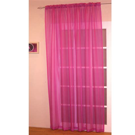 voile kitchen curtains voile net slot top rod pocket curtain panel bedroom