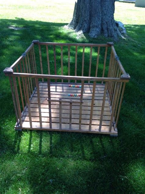 Nu Line Portable Crib by Vintage Playpen Shop Collectibles Daily