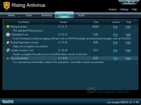 rising antivirus full version rising antivirus free edition screenshot and download at