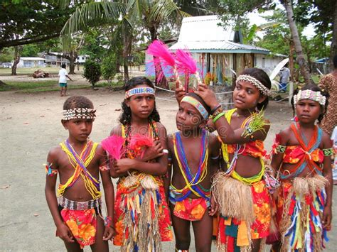 In Papua New Guinea Dodwell manus island dancers editorial image image of plants 70635845