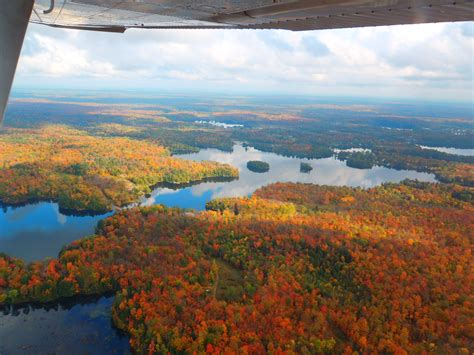 Edge Longwings Blue Adventure Outdoor tour ontario s fall colours from above explorers edge