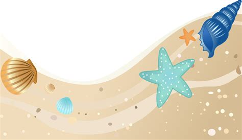 beach transparent clipart summer beach