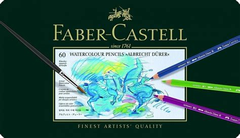 Faber Castell Water Cup Graphic faber castell water color pencils albrecht d 252 rer tin of 60 foxy studio foxy studio