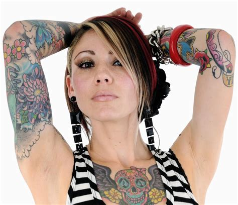 beautiful tattooed ladies tattoos