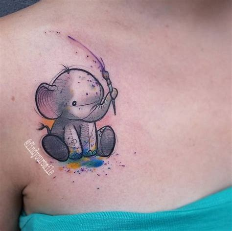 awesome tat 10 awesome watercolor tattoos for women