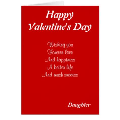 valentines for daughters for cards for card