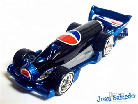 Hotwheels Hw Carbonator wheels carbonator custom pepsi racer