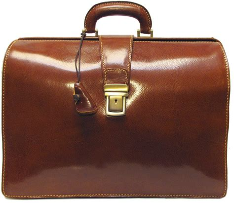 Handmade Briefcase - ciabatta handmade italian leather briefcase polished