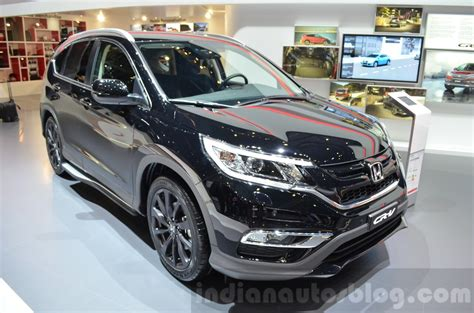 Karpet Crv Turbo 2017 honda cr v black edition displayed at geneva motor show 2016