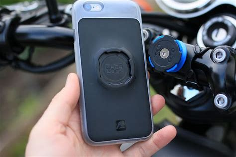Quad Lock Motorrad by Gear Review Quadlock Smartphone Bike Kit Pinterest