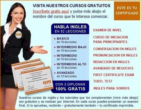 cursos de ingles gratis certificado om personal aprender ingles om persona curso de ingl 233 s online gratis con diploma