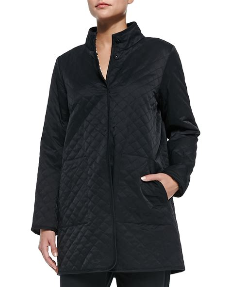 Eileen Fisher Quilted Jacket by Eileen Fisher Quilted Jacket W Fleece Lining In