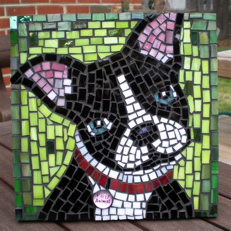 mosaic pattern animals party animal mosaic grouted flickr photo sharing