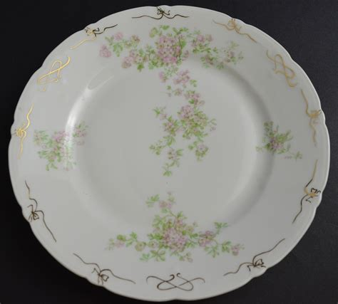 china patterns ps bavarian porcelain china bread plate pink floral
