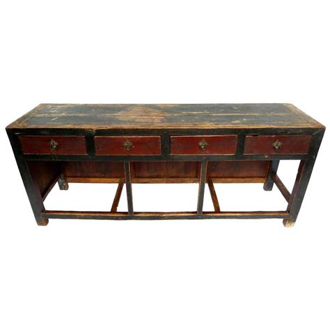 Asian Console Table with Late 19th Century Asian Console Table At 1stdibs