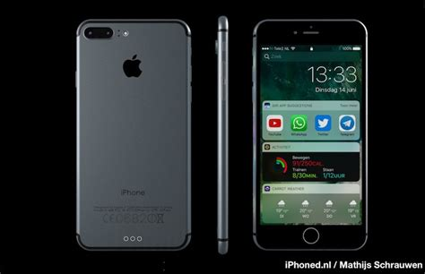 7 iphones ranked iphone 7 concept imagines new handset running ios 10 macrumors