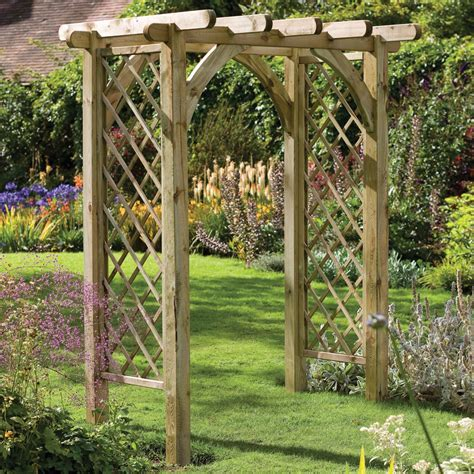 Garden Arches And Pergolas Forest Ultima Pergola Arch Gardensite Co Uk