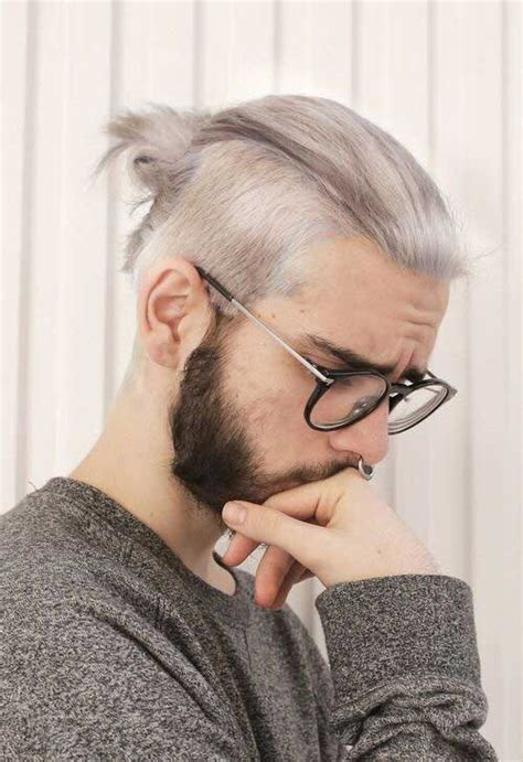 undercut hairstyles for men with gray hair 15 men s shaved hairstyles mens hairstyles 2018