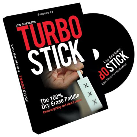 Dvd Magic Richard Sanders Tagged turbo stick props and dvd by richard sanders dvd